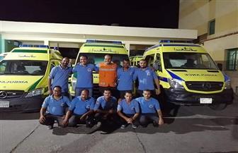 إسعاف البحر الأحمر ترفع درجة الاستعداد لتأمين أماكن عرض مباريات كأس الأمم الإفريقية| صور