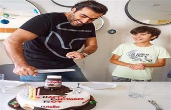 """باسم ياخور يحتفل بعيد ميلاد ابنه: """"كل سنة وأنت سالم حبيبي"""""""