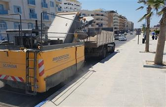 محافظ مطروح: تكثيف أعمال النظافة في الشوارع والميادين استعدادا لموسم الصيف