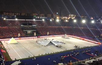 صفحة الرئيس السيسي تنشر صورا من إستاد القاهرة قبل افتتاح بطولة أمم إفريقيا   صور