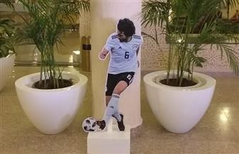 مع انطلاق بطولة الأمم الإفريقية.. صور لاعبي المنتخب الوطني على مداخل فنادق الغردقة | صور