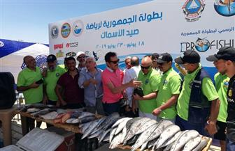 ختام فعاليات بطولة الجمهورية لصيد الأسماك بالغردقة |صور