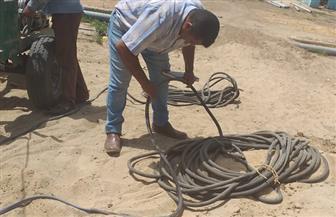 محافظ أسيوط: تنفيذ آبار مياه جديدة بقرى منفلوط وساحل سليم واستبدال المواسير القديمة | صور