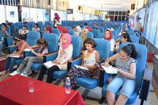 """جامعة الطفل في سوهاج تختتم عامها الأول بمحاضرة عن """"المصريات"""" وزيارة للمتحف   صور"""