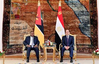 نص كلمة الرئيس السيسي في المؤتمر الصحفي المشترك مع نظيره الموزمبيقي | صور