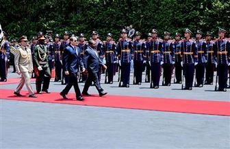 تفاصيل لقاء الرئيس السيسي بنظيره الموزمبيقي في قصر الاتحادية| صور
