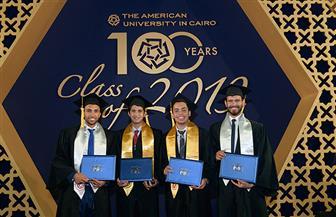 الجامعة الأمريكية بالقاهرة تحتفل بتخريج دفعات جديدة للبكالوريوس والدراسات العليا   صور