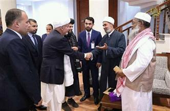 الرئيس الأفغاني يعرب عن تقديره للبعثة الأزهرية في كابول | صور