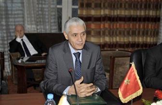 وزير الشباب والرياضة المغربي يصل القاهرة لمؤازرة أسود الأطلسي