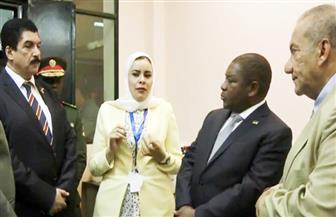 """رئيس موزمبيق يزور """"القومي لبحوث المياه"""".. ويؤكد: سيتم إرسال وفد متخصص لبحث التعاون المشترك"""