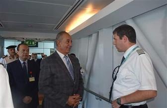 محافظ البحر الأحمر يستقبل أولى الرحلات النمساوية بمطار الغردقة الدولي | صور