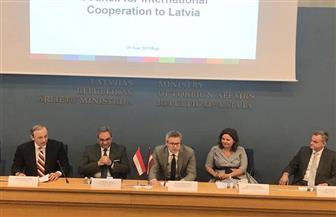 رسلان: البعثة المصرية تعرض فرص ومزايا الاستثمار بالسوق المحلية خلال زيارة لاتفيا