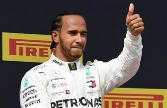 هاميلتون يواصل فرض هيمنته في الفورمولا 1