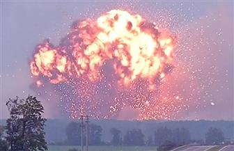 انفجارات بمستودع للذخيرة في كازاخستان