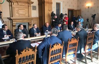 بدء مباحثات 2+2 بين وزيري خارجية مصر وروسيا | صور