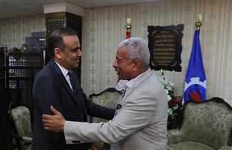 الجماهير تتوافد على السويس لحضور مباريات أمم إفريقيا.. ورئيس الاتحاد التونسى يشيد بالتنظيم | صور