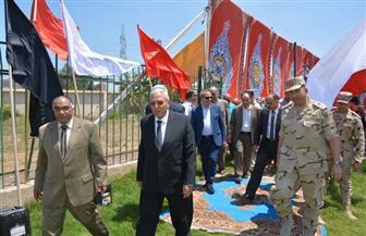 محافظ الدقهلية يتفقد معسكر إيواء نادي طلخا ويشدد على حسن استقبال المتضررين | صور