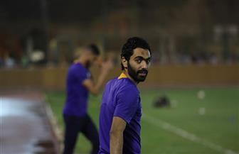 حسين الشحات: معكسر إسبانيا إضافة كبيرة.. ولدينا إصرار كبير لحسم لقب الدوري