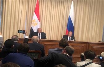 لافروف: نطالب بتسوية الأزمة السورية ونحترم القرار الأممي الصادر بشأن وحدة وسلامة أراضيها