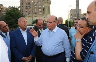 محافظ القاهرة يتفقد شارع أحمد تيسير بشرق مدينة نصر | صور