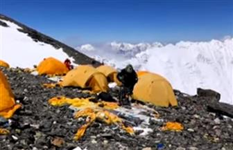 الحكومة النيبالية تكلف فرقا تطوعية لتنظيف قمة إيفرست | فيديو