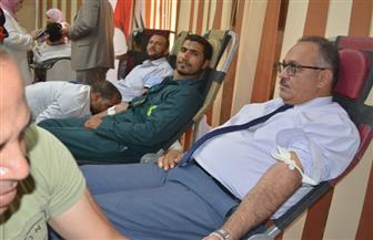 تاون جاس تشارك في مبادرة وزارة البترول للتبرع بالدم | صور