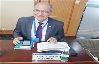 اختيار طارق السيد رئيسا للوفود العربية بمؤتمر بناء الحزام في الصين