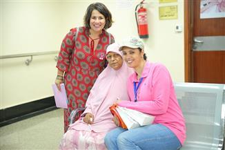 إنجي وجدان تدعم محاربات سرطان الثدي | صور