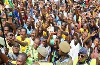 جماهير الكونغو تؤازر منتخب بلادها في المران قبل مواجهة مصر غدا