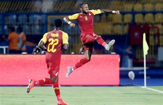 منتخب غانا يتقدم على بنين 2 - 1 فى الشوط الأول بأمم إفريقيا