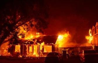 حريق في منزل يمتد لآخر فى سوهاج ويتسبب في نفوق عدد من رءوس الماشية