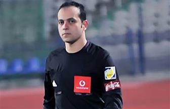 المساعد المصري أحمد حسام طه يحصل على الإجادة فى لقاء غانا وبنين