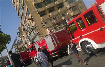 السيطرة على حريق بعقار في باب الشعرية| صور