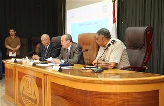 تفاصيل قرارات المجلس التنفيذي بمحافظة كفر الشيخ | صور