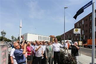 """""""آخن الألمانية"""" تطلق رسميا اسم """"المسجد"""" على ساحة وسط المدينة"""