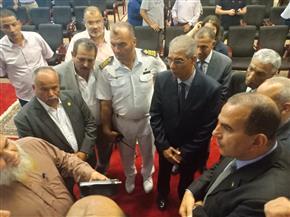لجنة الشئون العربية بمجلس النواب تتفقد ميناء سفاجا البحري| صور