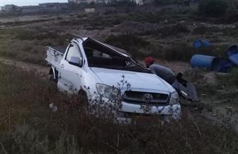 مصرع وإصابة 18 شخصا في حادثي تصادم على الطريق الساحلي الدولي بكفر الشيخ| صور