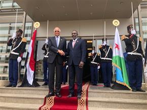 عبدالعال يختتم زيارته لجيبوتي بلقاء رئيس البرلمان  صور