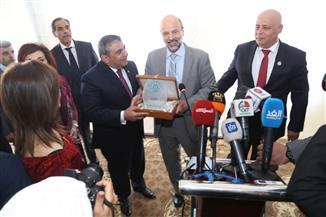 سنافي عقب تكريمه: الملتقى الدولي للبناء والإنشاءات بالأردن يوطد العلاقات بين الدول العربية في قطاع المقاولات