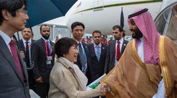ولي العهد السعودي يصل اليابان ليرأس وفد المملكة المشارك في قمة دول مجموعة العشرين