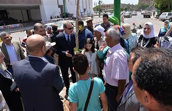 """محافظ أسيوط يشارك في فعاليات """"يوم البيئة العالمي"""" بغرس شجرة أمام الديوان العام   صور"""
