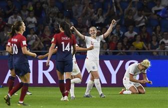 إنجلترا تهزم النرويج بثلاثية وتبلغ نصف نهائي مونديال السيدات