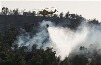 انتشار حرائق غابات في إسبانيا إثر موجة حارة