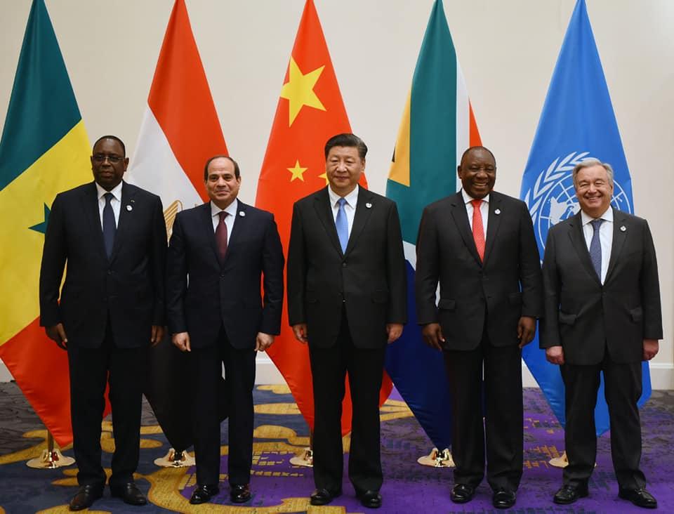 الرئيس السيسي على هامش قمة العشرين