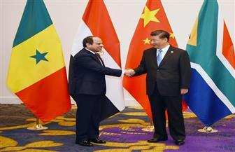 الرئيس السيسي يؤكد حرص مصرعلي القيام بدور فاعل وداعم لتحقيق الأهداف المرجوة من المشاركة بين الصين وإفريقيا|صور