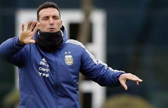 كوبا أمريكا.. «سكالوني» يعلن تشكيل الأرجنتين أمام أوروجواي