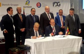 رئيس العربية للتصنيع يعلن من برلين تفاصيل توقيع ٤ اتفاقيات مع كبريات الشركات الألمانية | صور