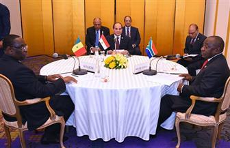 ننشر تفاصيل مشاركة الرئيس السيسي في القمة الإفريقية التنسيقية المصغرة بأوساكا | صور