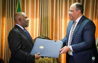سفير مصر في تنزانيا يقدم أوراق اعتماده لدى جمهورية القمر المتحدة |صور