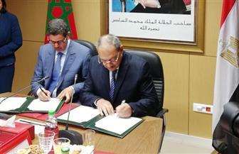 النائب العام يوقع مذكرة تفاهم مع نظيره المغربي
